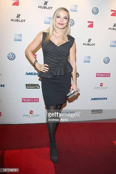 Regina Halmich attends Movie meets Media at Hotel Atlantic on November 30 2012 in Hamburg Germany