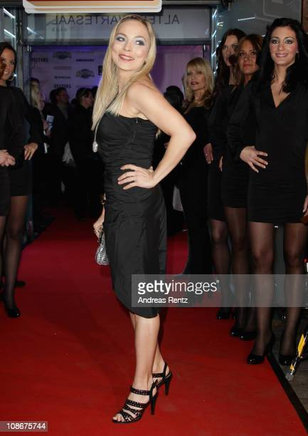 Regina Halmich attends the Lambertz Monday Night 2011 Schoko Fashion party at the Alten Wartesaal on January 31 2011 in Cologne Germany