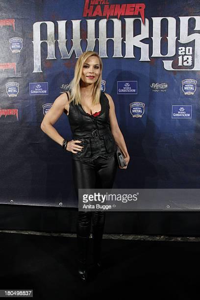 Regina Halmich attends the Metal Hammer Awards 2013 at Kesselhaus on September 13 2013 in Berlin Germany