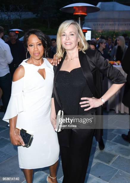 Regina King and Chelsea Handler attend Communities in Schools Annual Celebration on May 1 2018 in Los Angeles California