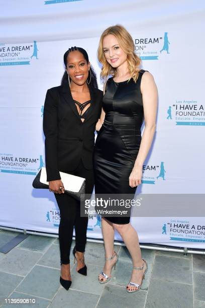 Regina King and Heather Graham attend the I Have A Dream Foundation Los Angeles hosts 6th annual Dreamer Dinner Benefit at Skirball Cultural Center...