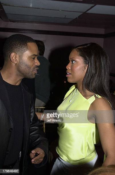 Regina King and Ian Alexander during Down to Earth Premiere 2001
