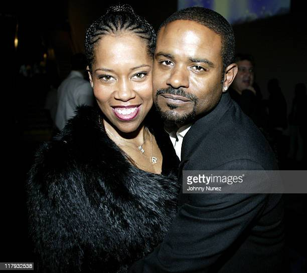 Regina King and Ian Alexander during NBPA AllStar Ice Gala February 19 2005 at Denver Convention Center in Denver Colorado United States