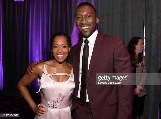 Regina King and Mahershala Ali attend the 91st Oscars Nominees Luncheon at The Beverly Hilton Hotel on February 04 2019 in Beverly Hills California