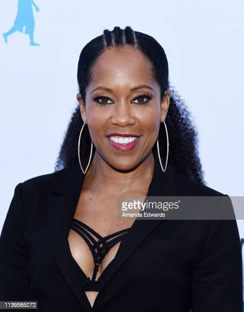 Regina King arrives at the 6th Annual I Have A Dream Foundation Los Angeles Dreamer Dinner Benefit at the Skirball Cultural Center on March 31 2019...