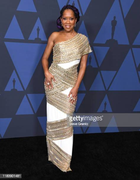 Regina King arrives at the Academy Of Motion Picture Arts And Sciences' 11th Annual Governors Awards at The Ray Dolby Ballroom at Hollywood Highland...