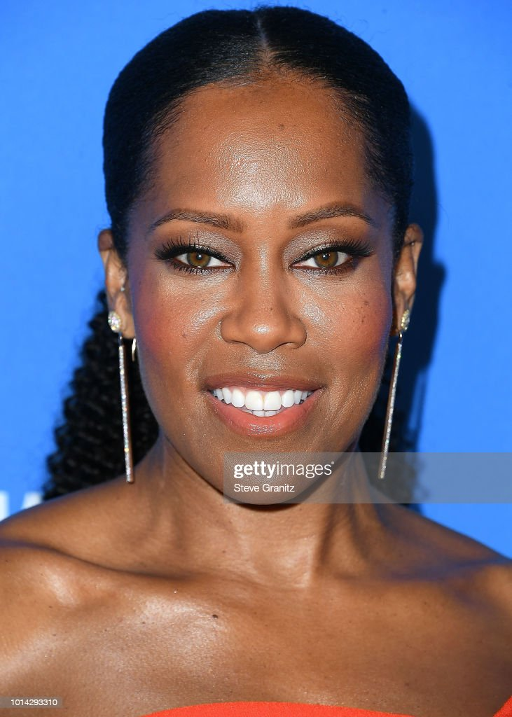 Regina King arrives at the Hollywood Foreign Press Association's Grants Banquet at The Beverly Hilton Hotel on August 9, 2018 in Beverly Hills, California.