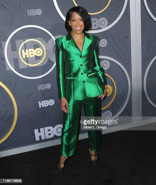 Regina King arrives for the HBO's Post Emmy Awards Reception held at The Plaza at the Pacific Design Center on September 22, 2019 in West Hollywood,...