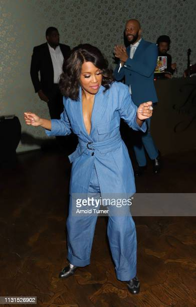 Regina King attends Common's 5th Annual Toast to the Arts at Ysabel on February 22 2019 in West Hollywood California