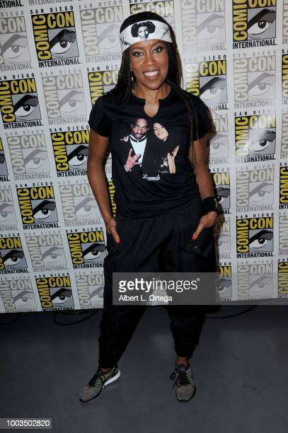 Regina King attends Entertainment Weekly's Women Who Kick Ass Panel during Comic-Con International 2018 at San Diego Convention Center on July 21,...