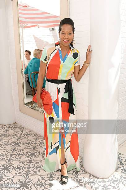 Regina King attends Glamour's Game Changers Lunch hosted by EditorinChief Cindi Leive Zendaya at AU FUDGE on April 20 2016 in West Hollywood...