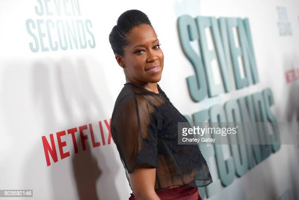 Regina King attends Netflix's 'Seven Seconds' Premiere screening and postreception in Beverly Hills CA on February 23 2018 in Beverly Hills California