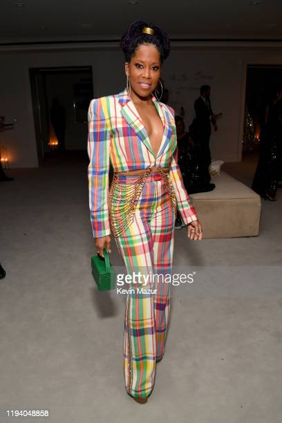 Regina King attends Sean Combs 50th Birthday Bash presented by Ciroc Vodka on December 14 2019 in Los Angeles California