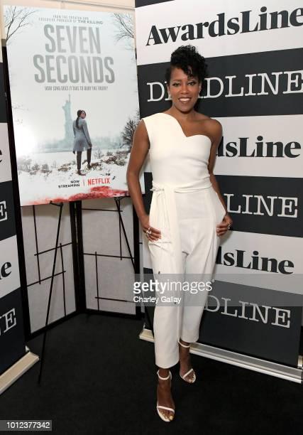 Regina King attends 'Seven Seconds' Deadline Contenders Screening at The Landmark on August 6 2018 in Los Angeles California