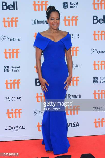 Regina King attends the 2018 Toronto International Film Festival premiere of 'If Beale Street Could Talk' at Princess of Wales Theatre on September 9...