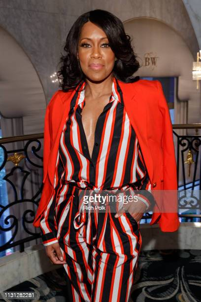 Regina King attends the 2019 Essence Black Women in Hollywood Awards Luncheon at Regent Beverly Wilshire Hotel on February 21, 2019 in Los Angeles,...