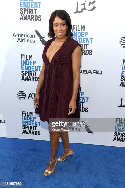 Regina King attends the 2019 Film Independent Spirit Awards on February 23 2019 in Santa Monica California