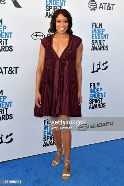 Regina King attends the 2019 Film Independent Spirit Awards on February 23 2019 in Santa Monica California