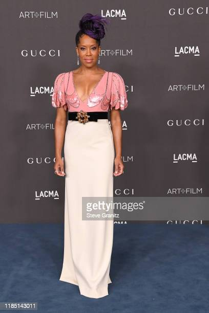 Regina King attends the 2019 LACMA Art Film Gala Presented By Gucci at LACMA on November 02 2019 in Los Angeles California