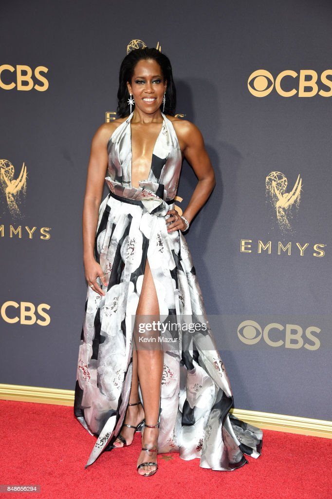Regina King attends the 69th Annual Primetime Emmy Awards at Microsoft Theater on September 17, 2017 in Los Angeles, California.