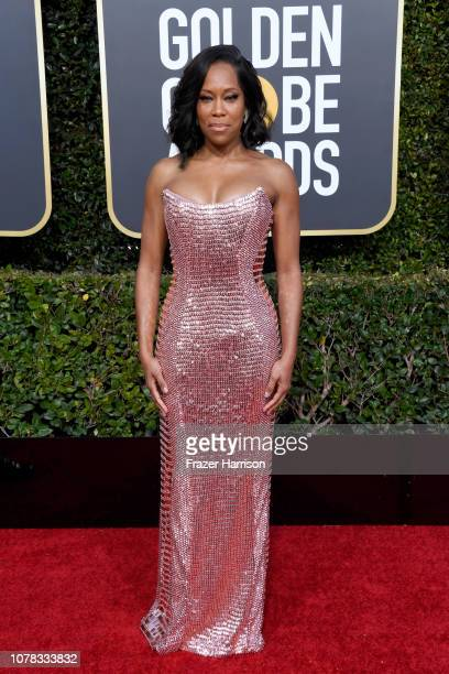 Regina King attends the 76th Annual Golden Globe Awards at The Beverly Hilton Hotel on January 6 2019 in Beverly Hills California
