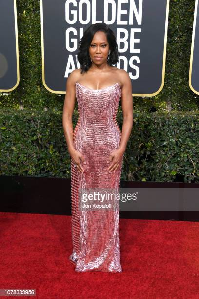 Regina King attends the 76th Annual Golden Globe Awards at The Beverly Hilton Hotel on January 6, 2019 in Beverly Hills, California.