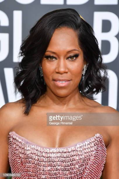 Regina King attends the 76th Annual Golden Globe Awards held at The Beverly Hilton Hotel on January 06 2019 in Beverly Hills California