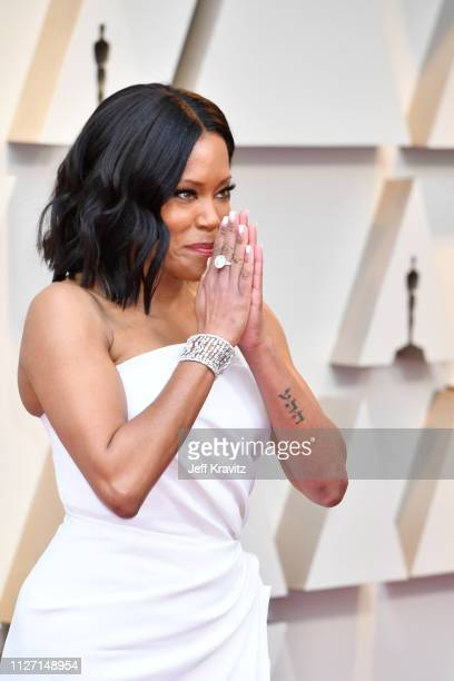 Regina King attends the 91st Annual Academy Awards at Hollywood and Highland on February 24 2019 in Hollywood California