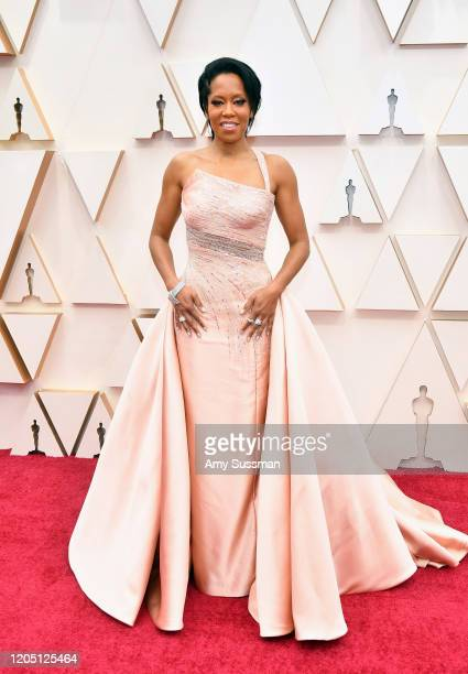Regina King attends the 92nd Annual Academy Awards at Hollywood and Highland on February 09 2020 in Hollywood California