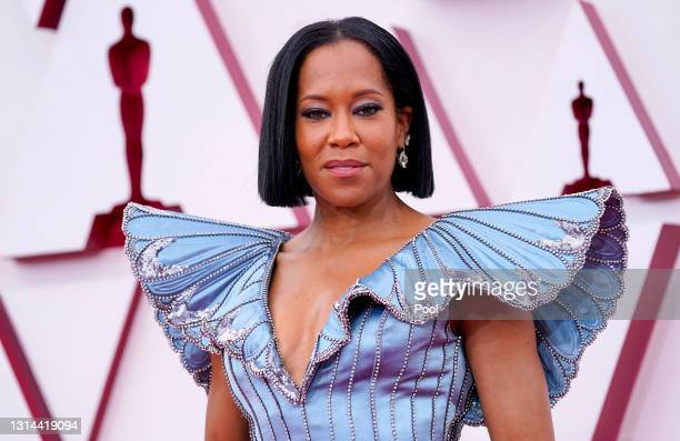 Regina King attends the 93rd Annual Academy Awards at Union Station on April 25, 2021 in Los Angeles, California.