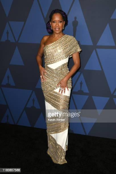 Regina King attends the Academy Of Motion Picture Arts And Sciences' 11th Annual Governors Awards at The Ray Dolby Ballroom at Hollywood Highland...