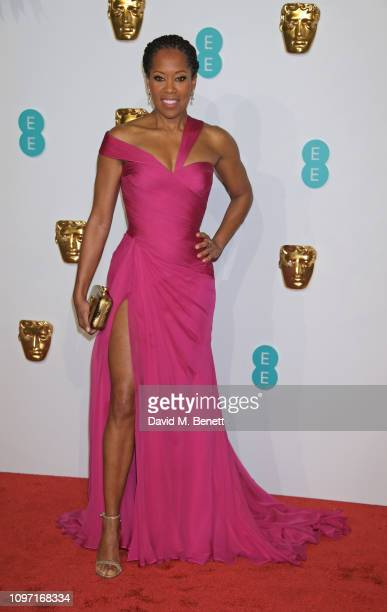 Regina King attends the EE British Academy Film Awards at Royal Albert Hall on February 10, 2019 in London, England.