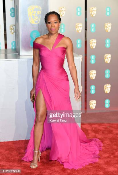 Regina King attends the EE British Academy Film Awards at Royal Albert Hall on February 10 2019 in London England