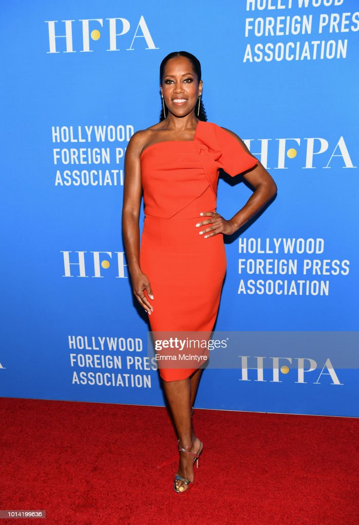 Regina King attends the Hollywood Foreign Press Association's Grants Banquet at The Beverly Hilton Hotel on August 9, 2018 in Beverly Hills, California.