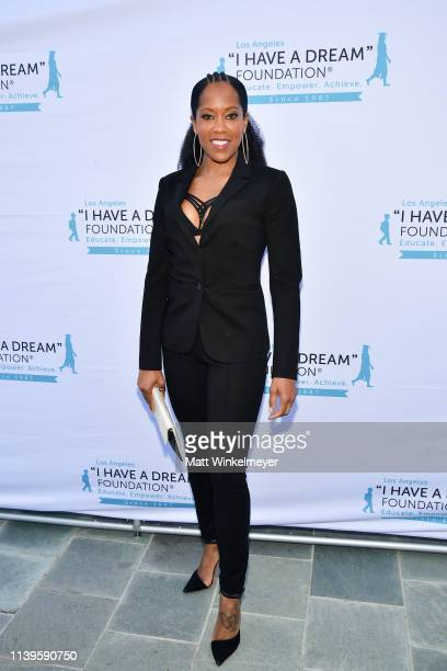 Regina King attends the I Have A Dream Foundation Los Angeles hosts 6th annual Dreamer Dinner Benefit at Skirball Cultural Center on March 31 2019 in...