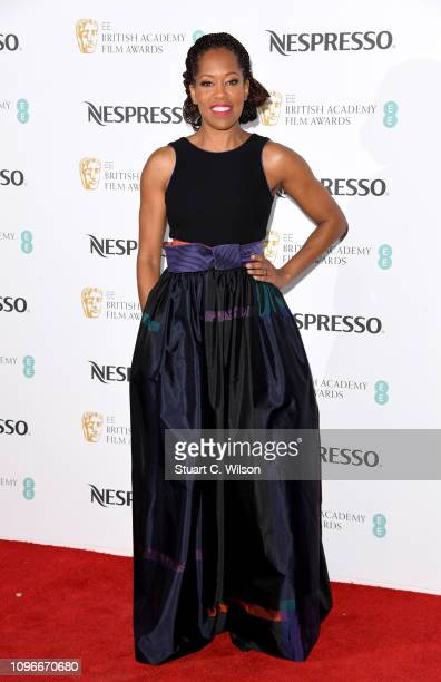 Regina King attends the Nespresso British Academy Film Awards nominees party at Kensington Palace on February 9 2019 in London England