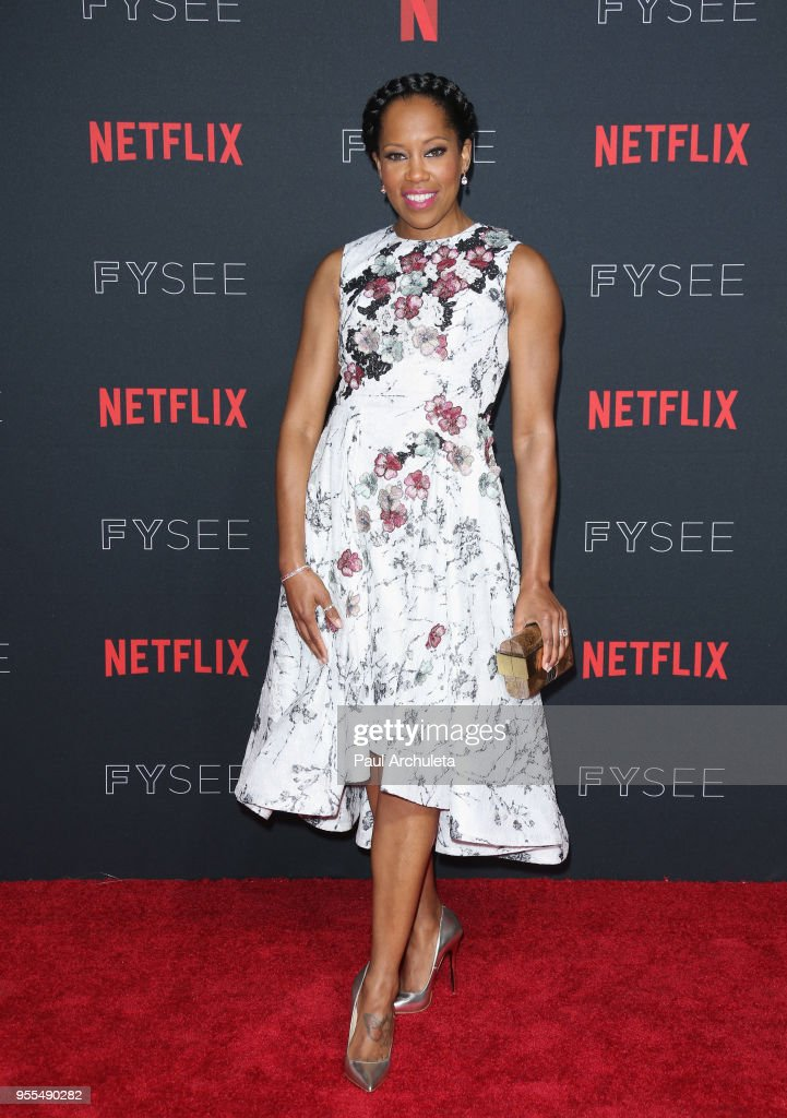 Regina King attends the Netflix FYSEE Kick-Off Event at Netflix FYSEE At Raleigh Studios on May 6, 2018 in Los Angeles, California.