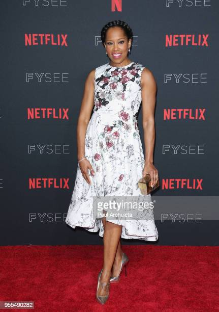 Regina King attends the Netflix FYSEE KickOff Event at Netflix FYSEE At Raleigh Studios on May 6 2018 in Los Angeles California