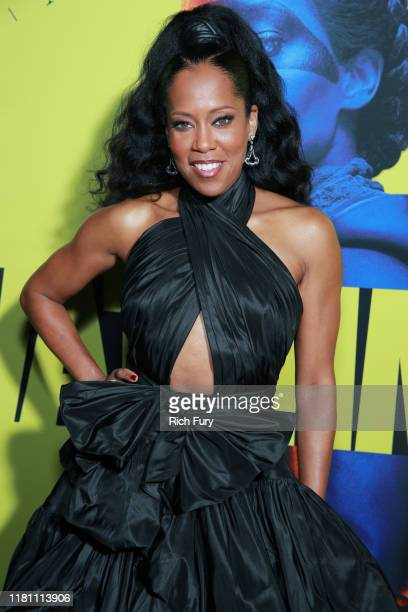 """Regina King attends the premiere of HBO's """"Watchmen"""" at The Cinerama Dome on October 14, 2019 in Los Angeles, California."""