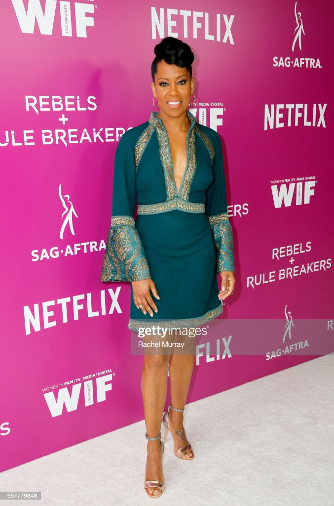 Regina King attends the Rebels and Rule Breakers Panel at Netflix FYSEE at Raleigh Studios on May 12, 2018 in Los Angeles, California.