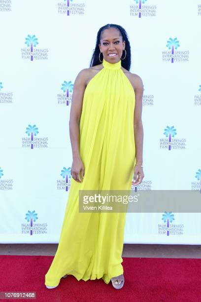 Regina King attends the screening of 'If Beale Street Could Talk' at the 30th Annual Palm Springs International Film Festival on January 3 2019 in...