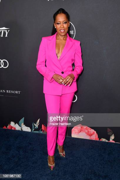 Regina King attends Variety's Power Of Women Los Angeles at the Beverly Wilshire Four Seasons Hotel on October 12 2018 in Beverly Hills California