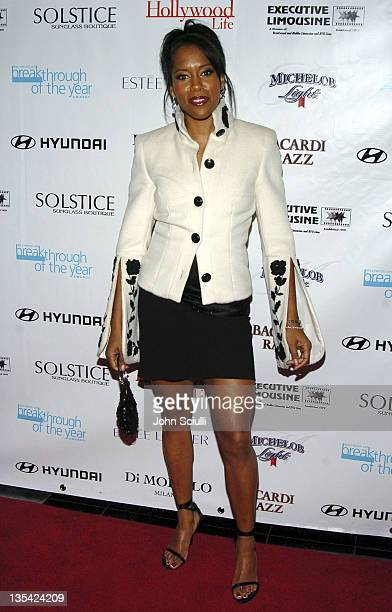Regina King during Hollywood Life's 4th Annual Breakthrough of the Year Awards - Red Carpet at Henry Fonda Theatre in Hollywood, California, United...