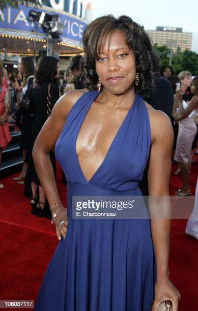Regina King during Universal Pictures Presents the World Premiere of 'Miami Vice' at Mann Village Theater in Westwood California United States