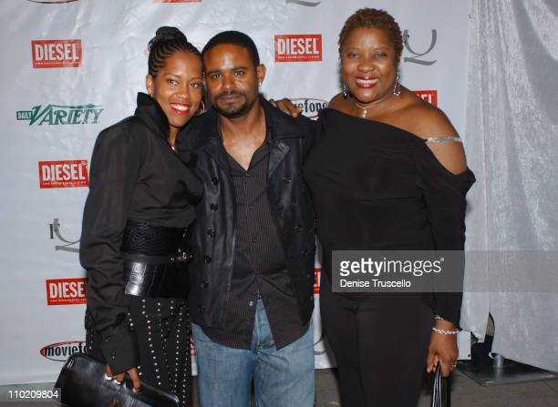 Regina King, Ian Desdune and Loretta Devine during 2004 Toronto International Film Festival - Diesel Dream Party Hosted by FQ Variety and AOL at...