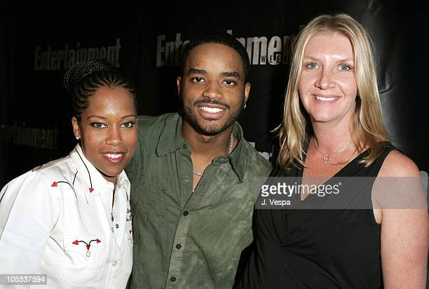 Regina King Larenz Tate and Peggy Mansfield during 2004 Toronto International Film Festival Entertainment Weekly/ Endeavor Party at Lobby in Toronto...