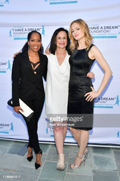 Regina King Laurie Zaks and Heather Graham attend the I Have A Dream Foundation Los Angeles hosts 6th annual Dreamer Dinner Benefit at Skirball...