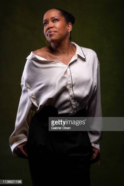 Regina King poses for a portrait at Morgan Stanley presents Alfre Woodard's 10th Annual Sistahs' Soiree on February 20 2019 in Los Angeles California
