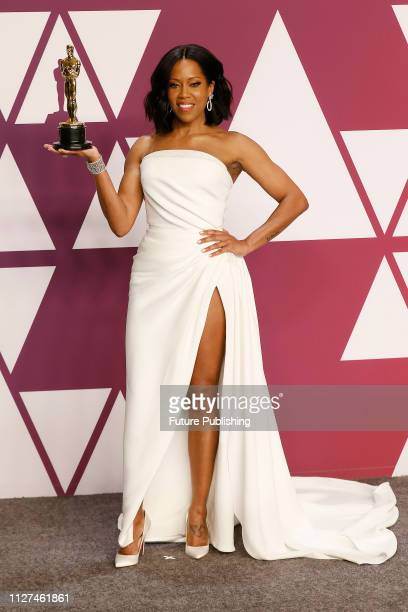 Regina King poses in the press room at the 91st Annual Academy Awards at the Dolby Theatre in Hollywood California on February 24 2019