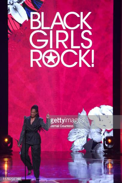 Regina King speaks onstage at Black Girls Rock 2019 Hosted By Niecy Nash at NJPAC on August 25 2019 in Newark New Jersey